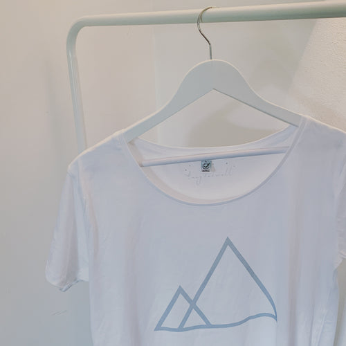 Triangles tee (size L, uk 14)