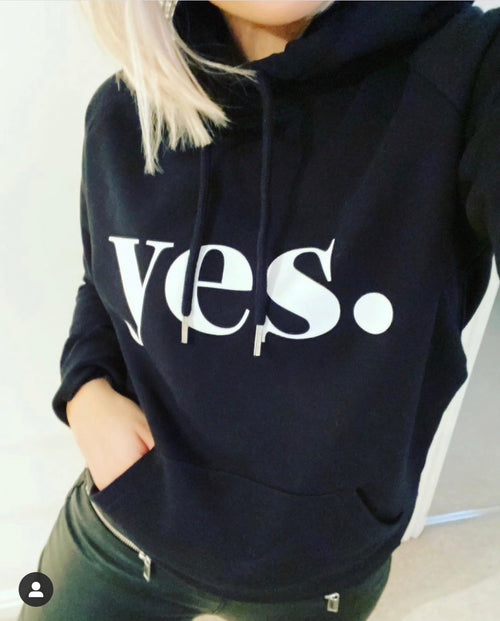 *NEW* YES black hoody