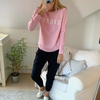 Pink PARIS sweatshirt
