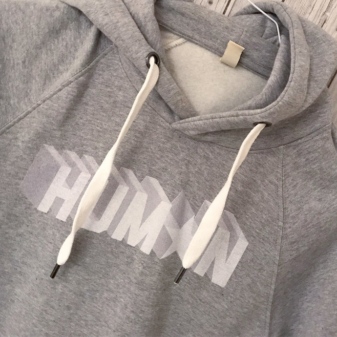 Grey human hoody (XS, size UK 10)