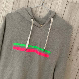 Neon stripes hoody size 12