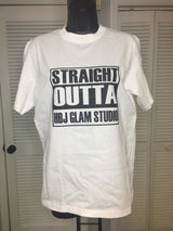 Straight Outta HBJ Glam Studio Tee