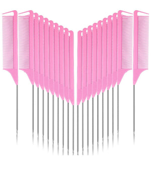 Pink Parting Comb
