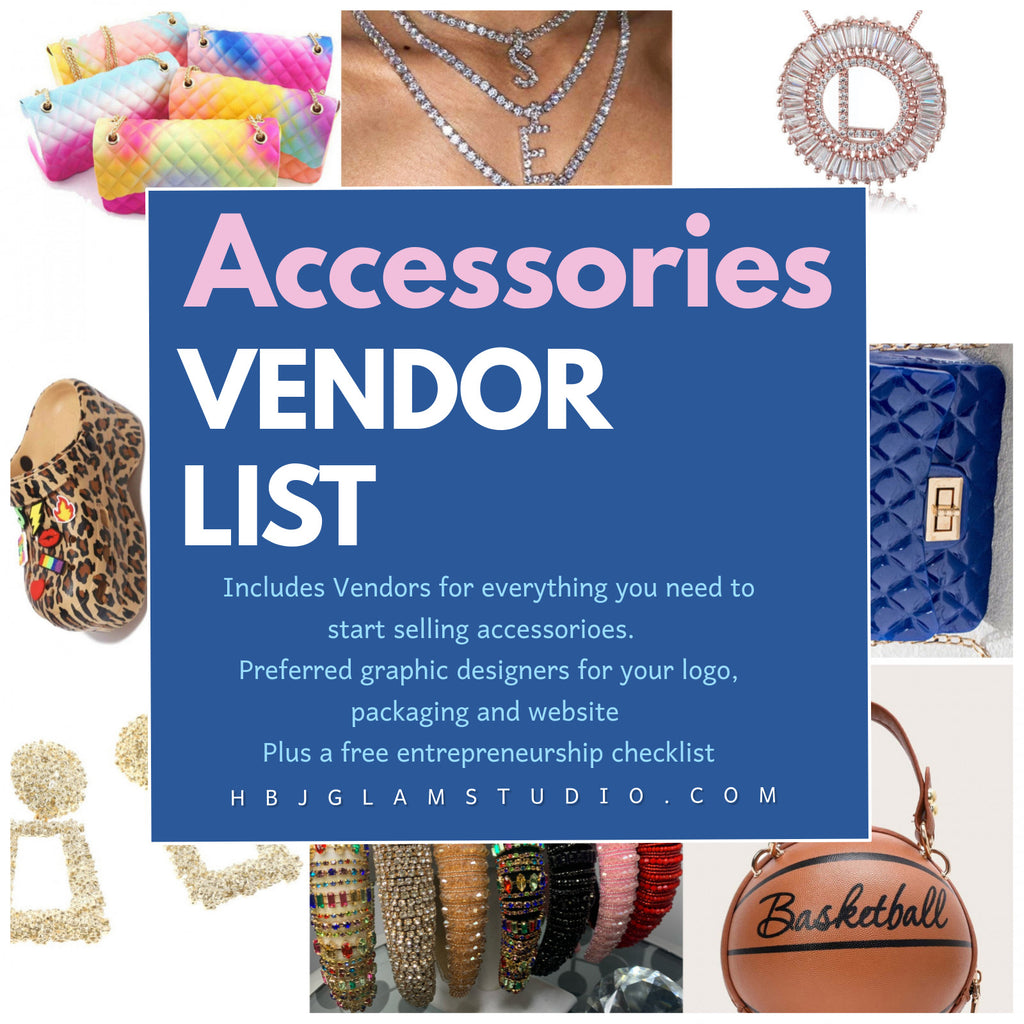 Accessories vendor list