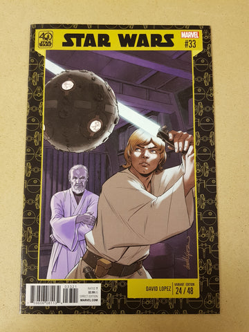 Star Wars #33 David Lopez Variant Cover