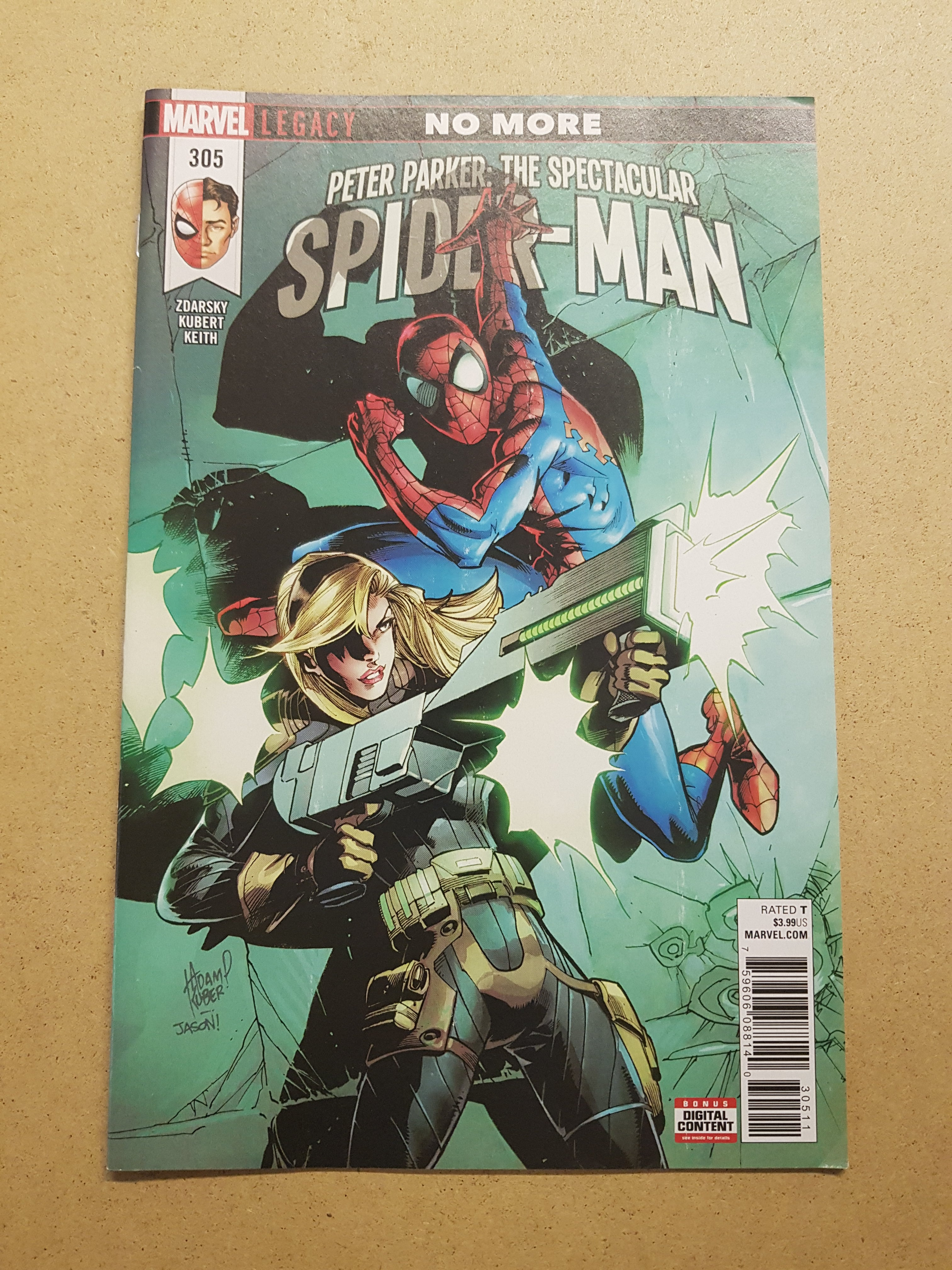 Peter Parker The Spectacular Spider-Man #305