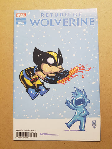 Return Of Wolverine #1 Skottie Young Variant Cover