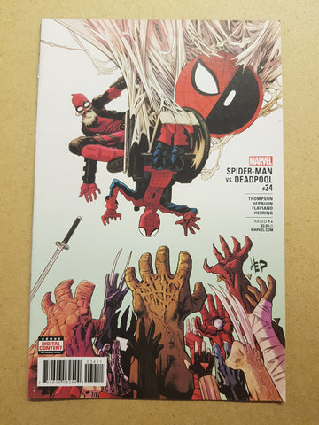 Spider-Man VS Deadpool #34