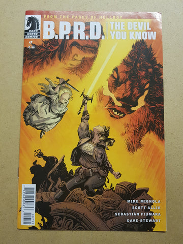 BPRD The Devil You Know #7