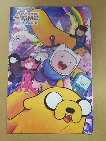 Adventure Time Season 11 #1 Retailer Variant Cover