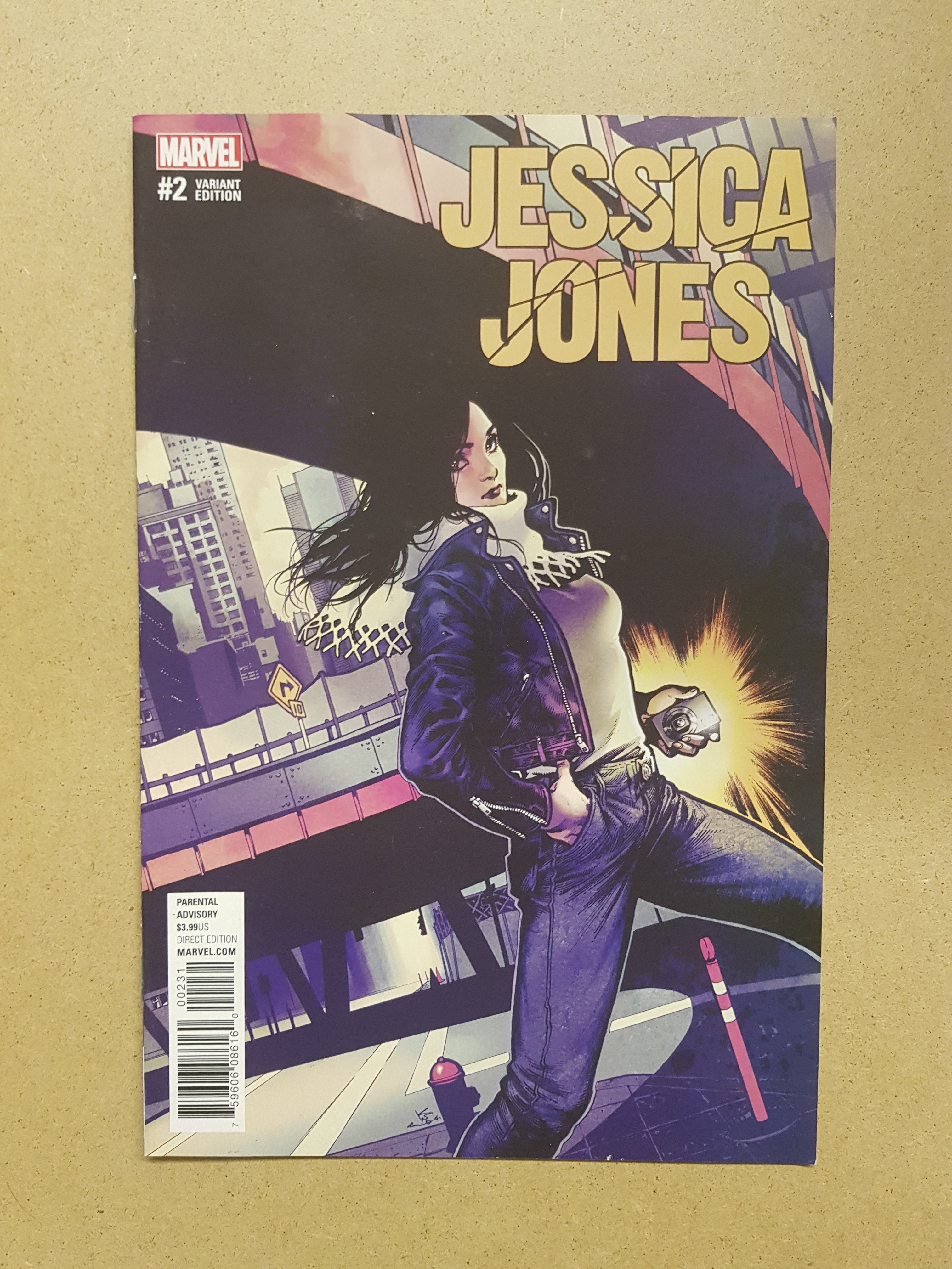 Jessica Jones #2 Variant Cover