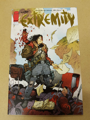 Extremity #1 Limited Gold Foil Variant Cover