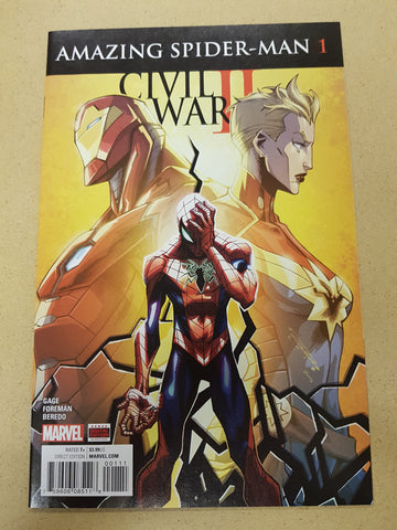 Civil War 2 Amazing Spider-Man #1