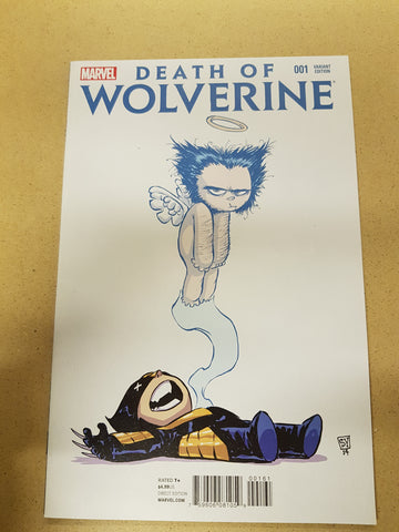 Death Of Wolverine #1 Skottie Young Variant Cover