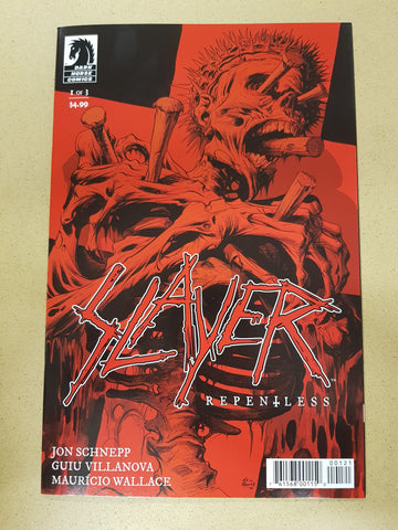 Slayer Repentless #1 Variant Cover