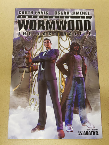 Chronicles Of Wormwood The Last Battle #1
