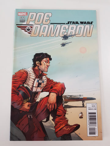 STAR WARS POE DAMERON #12 VARIANT