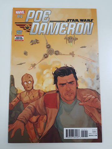 STAR WARS POE DAMERON #12 1ST PRINT