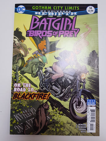 BATGIRL AND THE BIRDS OF PREY #14 1ST PRINT