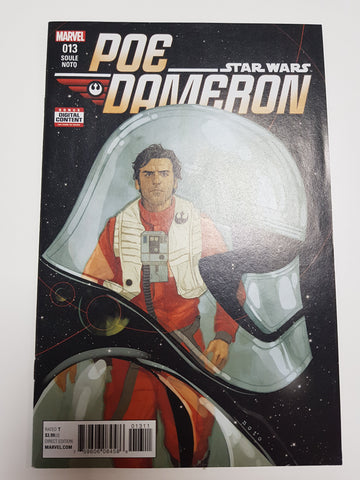 STAR WARS POE DAMERON #13 1ST PRINT