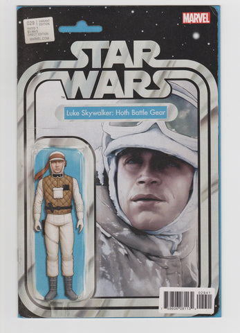 STAR WARS #29 LUKE SKYWALKER HOTH BATTLE GEAR ACTION FIGURE VARIANT