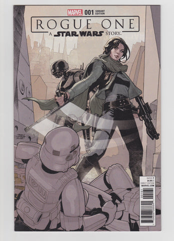 ROGUE ONE A STAR WARS STORY #1 1:25 VARIANT