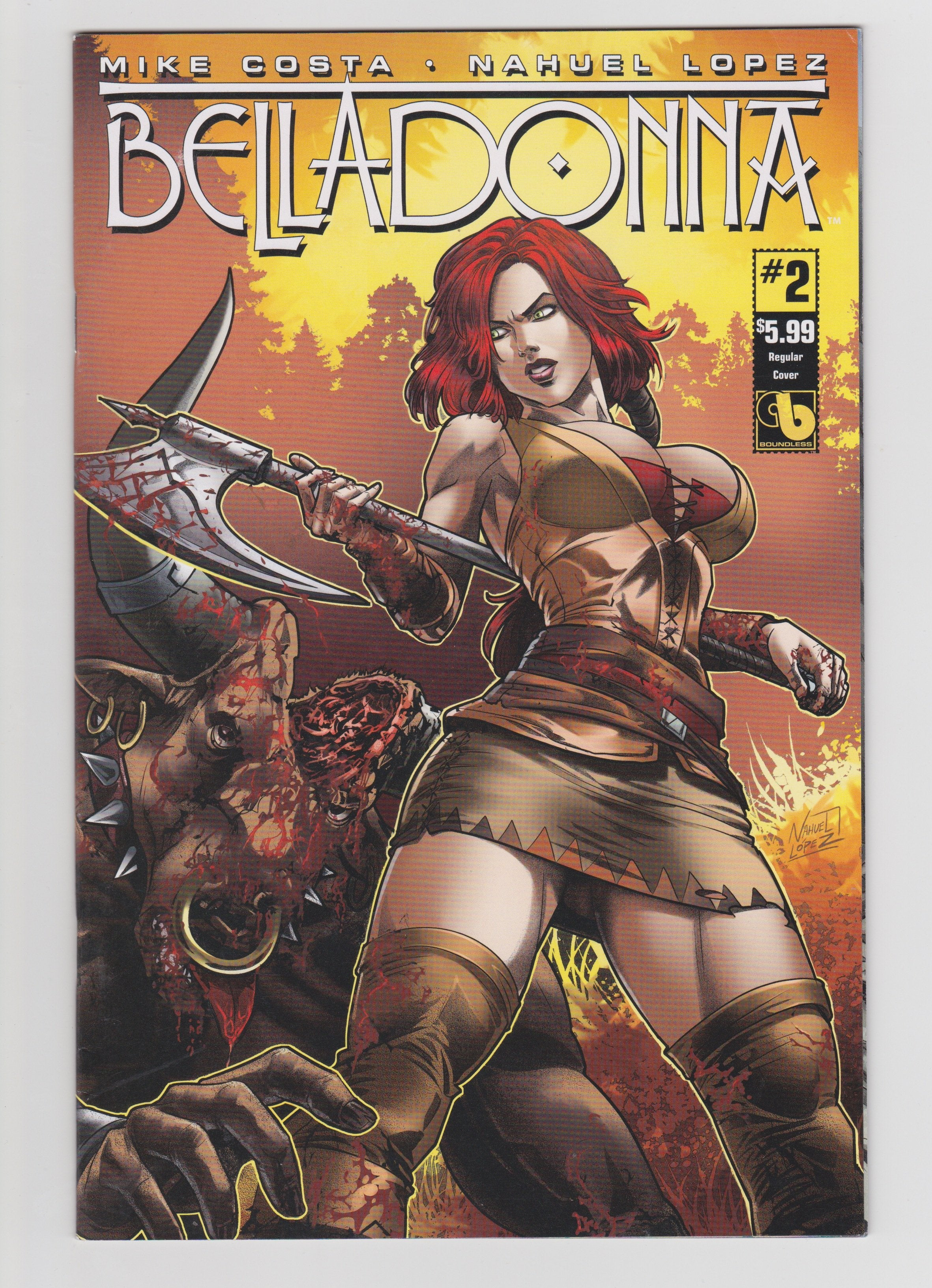 BELLADONNA #2 REGULAR COVER