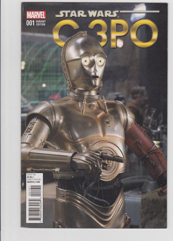 STAR WARS SPECIAL C-3PO #1 MOVIE VARIANT