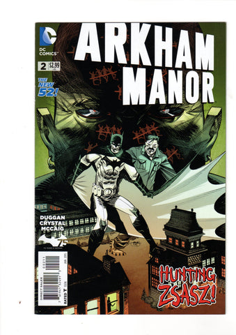 ARKHAM MANOR #2 NEW 52 1ST PRINT
