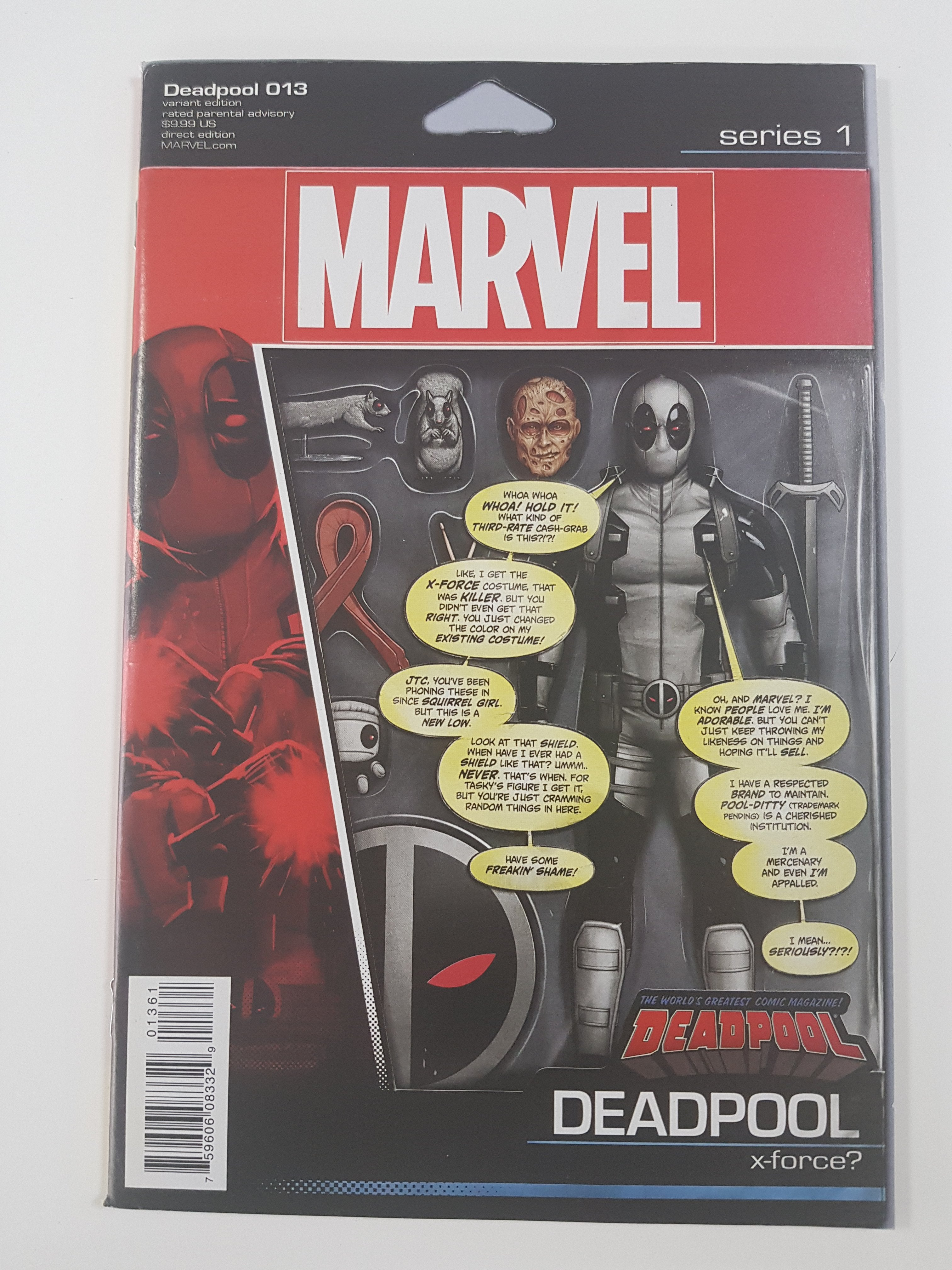 DEADPOOL #13 ACTION FIGURE VARIANT