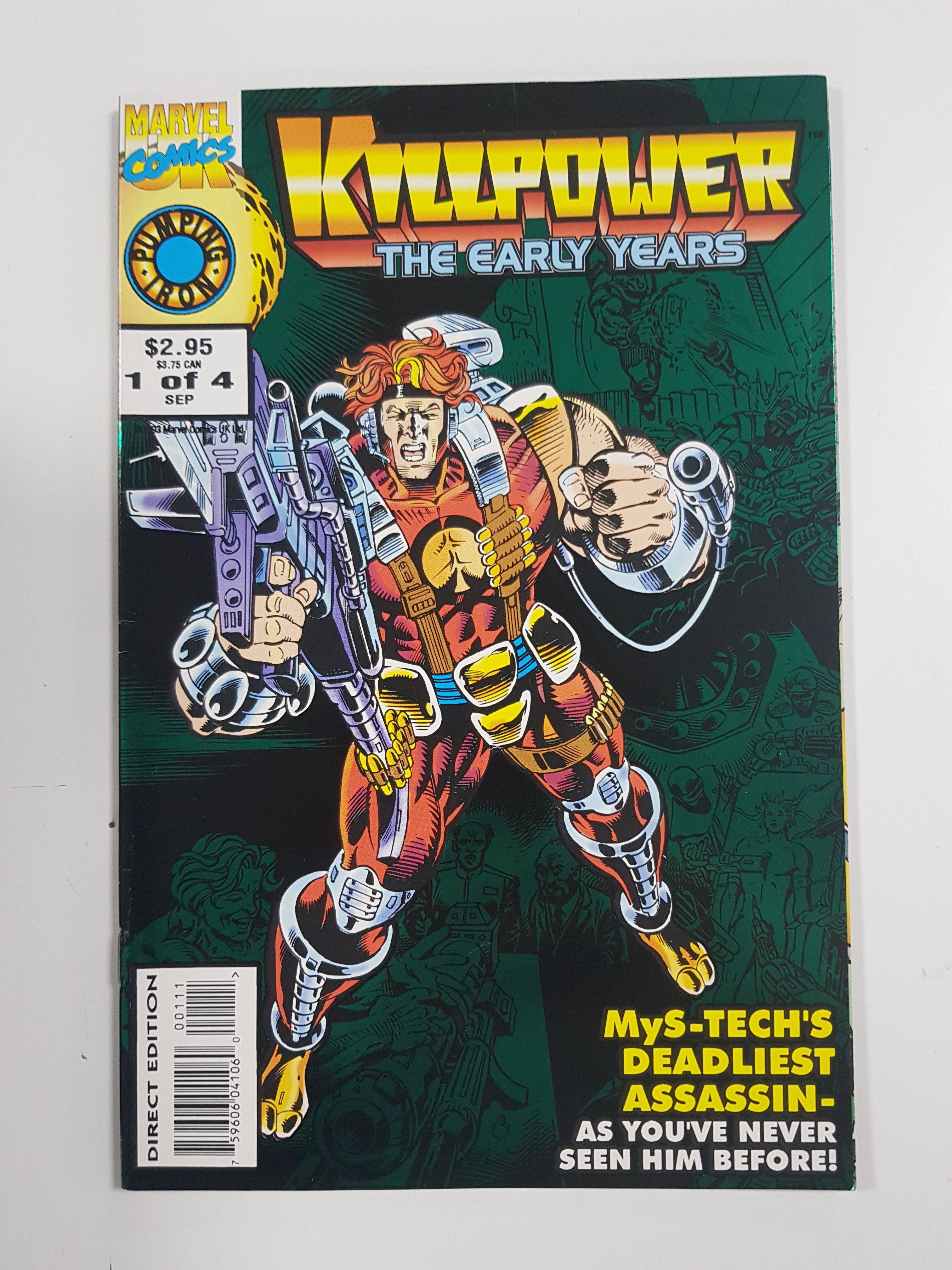 KILLPOWER THE EARLY YEARS #1