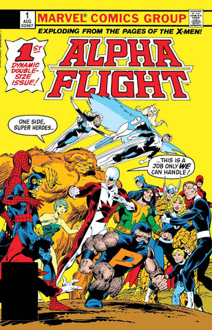 ALPHA FLIGHT #1 FACSIMILE EDITION
