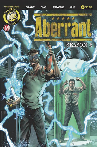 ABERRANT SEASON 2 #4 (OF 5) CVR A LEON DIAS (MR)