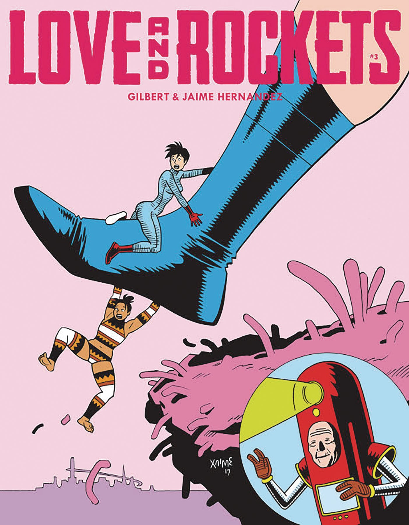 LOVE & ROCKETS MAGAZINE #3