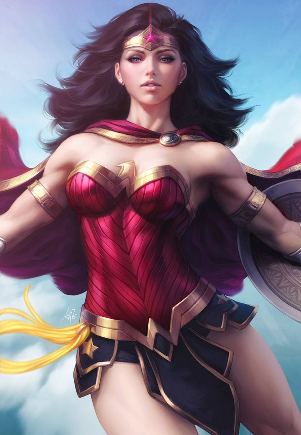 WONDER WOMAN #65 ARTGERM VARIANT COVER
