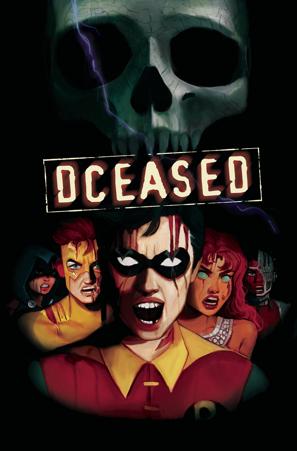 DCEASED #4 (OF 6) CARD STOCK HORROR VAR ED