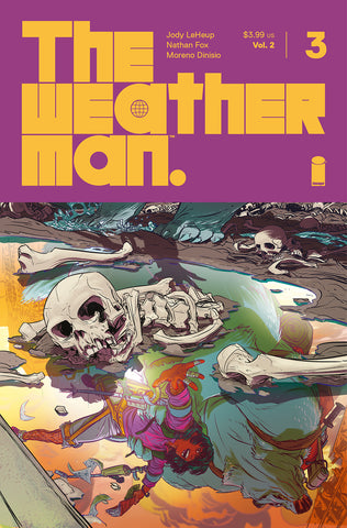 WEATHERMAN VOL 2 #3 #3 CVR A FOX