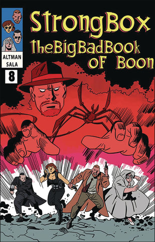 STRONG BOX BIG BAD BOOK OF BOON COMIC BOOK SUBSCRIPTION