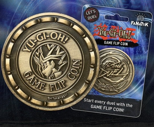 Yu-Gi-Oh!: Official Game Flip Coin