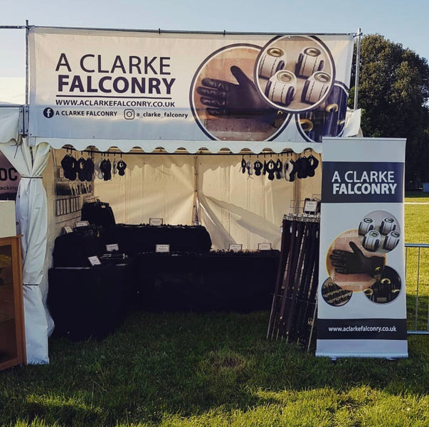 A Clarke Falconry at the British Falconry Fair