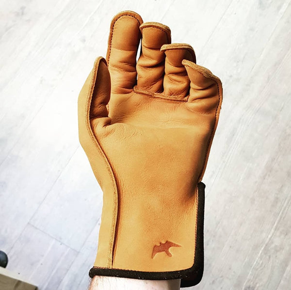 Deerskin Barkston Glove - Single Thickness