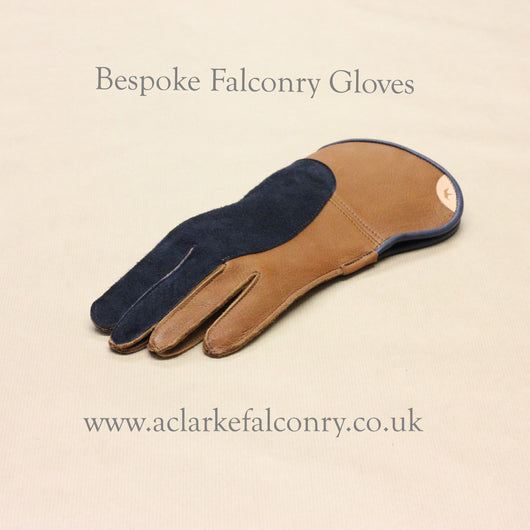 Bespoke Double Thickness Falconry Glove