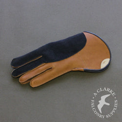 Bespoke Short Cuff Double Thickness Falconry Glove