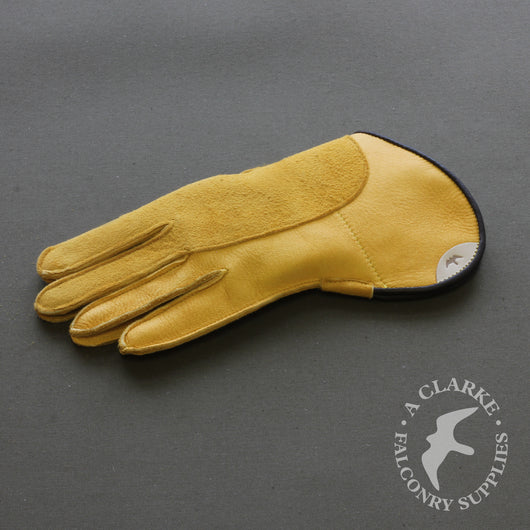 Short Cuff Double Thickness Falconry Glove - Yellow Elk