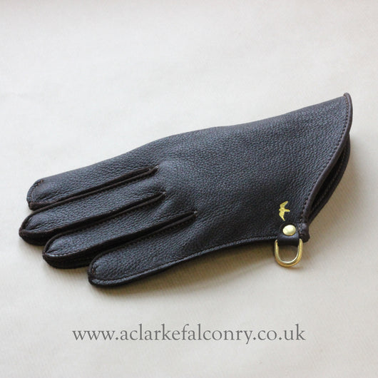 Wrist Length Falconry Glove