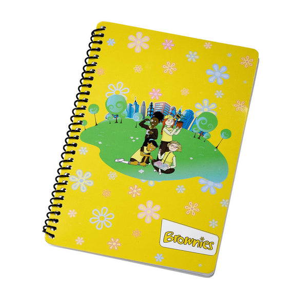Brownie A5 Notepad