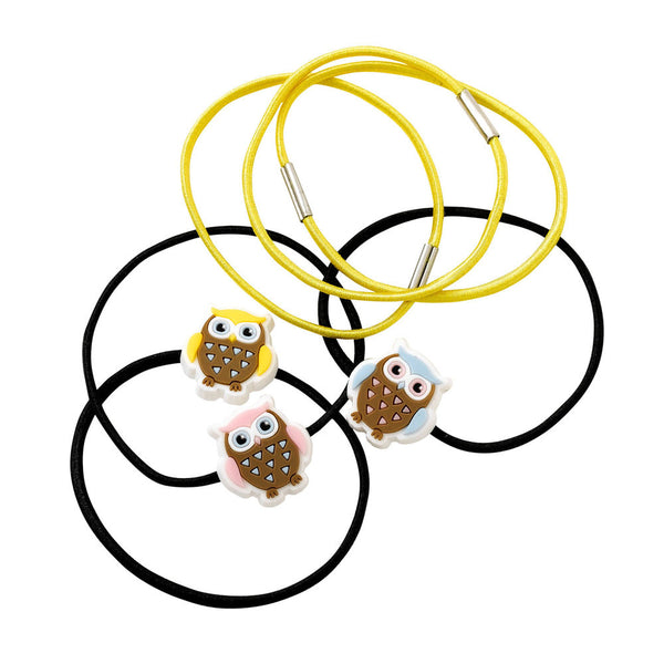 Brownie Owl Hair Elastics (x6)
