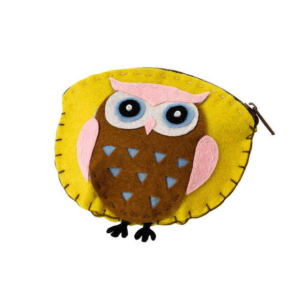Brownie Owl Felt Purse