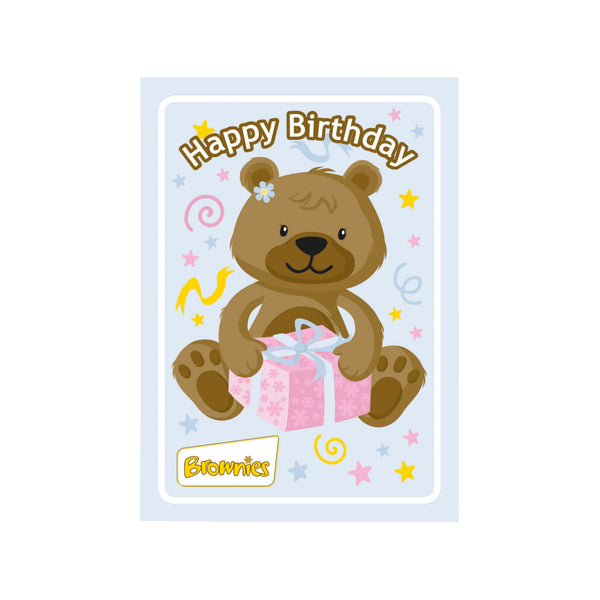 Brownie cards with envelopes (6PK)