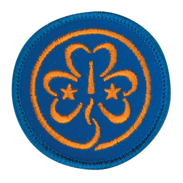 World Badge Embroidered
